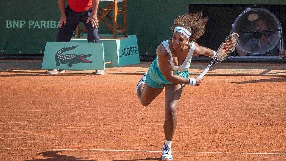 Serena Williams par Yann Caradec - Wikipédia CC BY-SA 2.0
