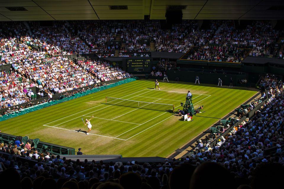 Serena Williams à Wimbledon par davidkenny91 - Pixabay CC0<br>