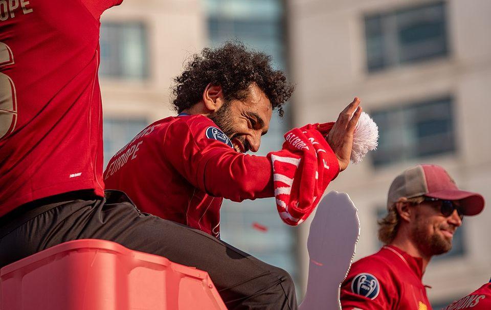 Mohamed Salah par Eric The Fish - Wikimédia CommonsCC BY 2.0