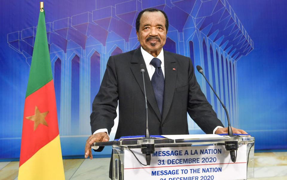 Discours du chef de l'état du Cameroun à l'occasion du Nouvel an 2021