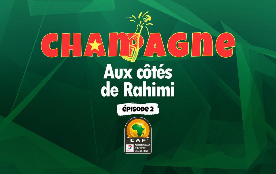 Rahimi et les 5 Meilleurs joueurs du CHAN 2021