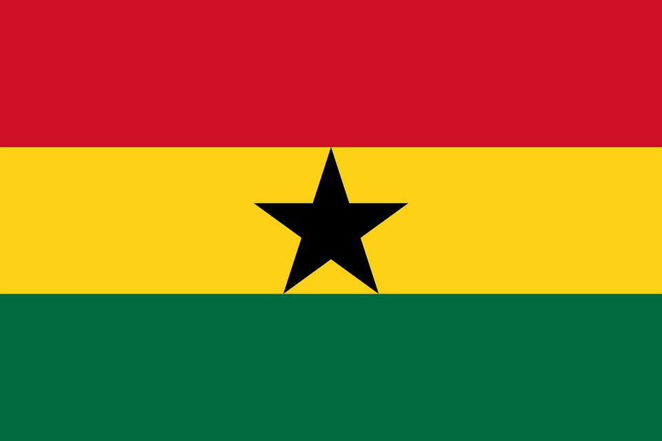 Drapeau du Ghana (Pixabay)