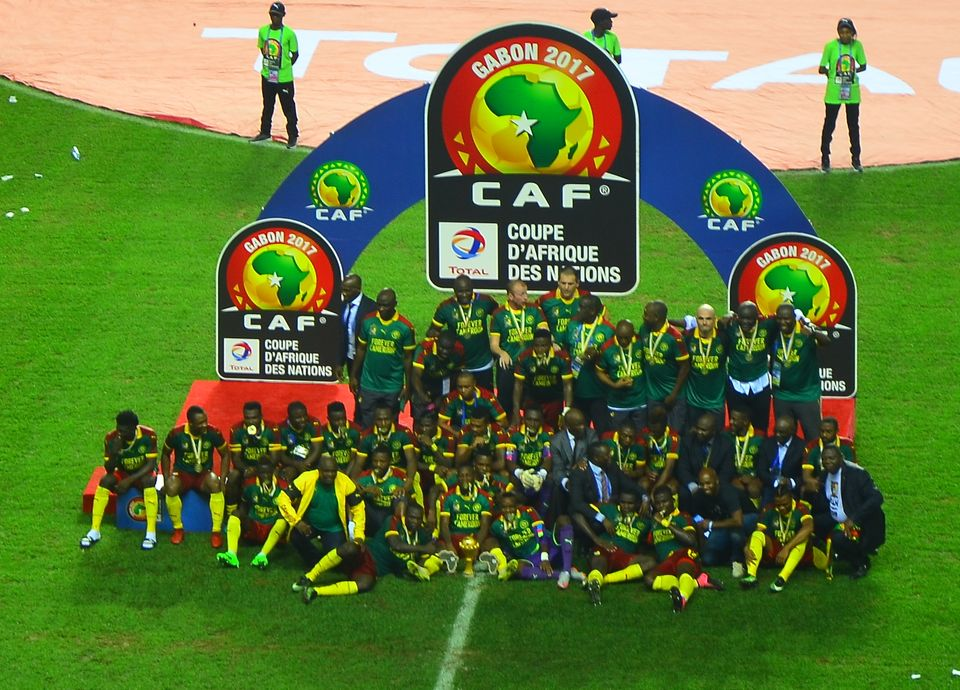Le Cameroun, vainquer de la CAN 2017 parBen Sutherlandde Crystal Palace (Londres) - Wikimédia Commons CC BY 2.0