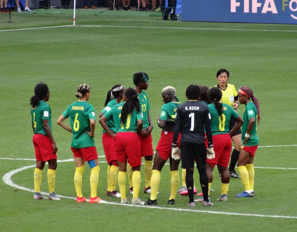 Le Cameroun au Mondial 2019 par Liondartois - Wikimédia Commons CC BY-SA 4.0