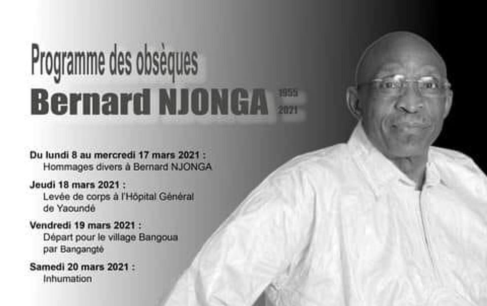 Bernard Njonga : Témoignages