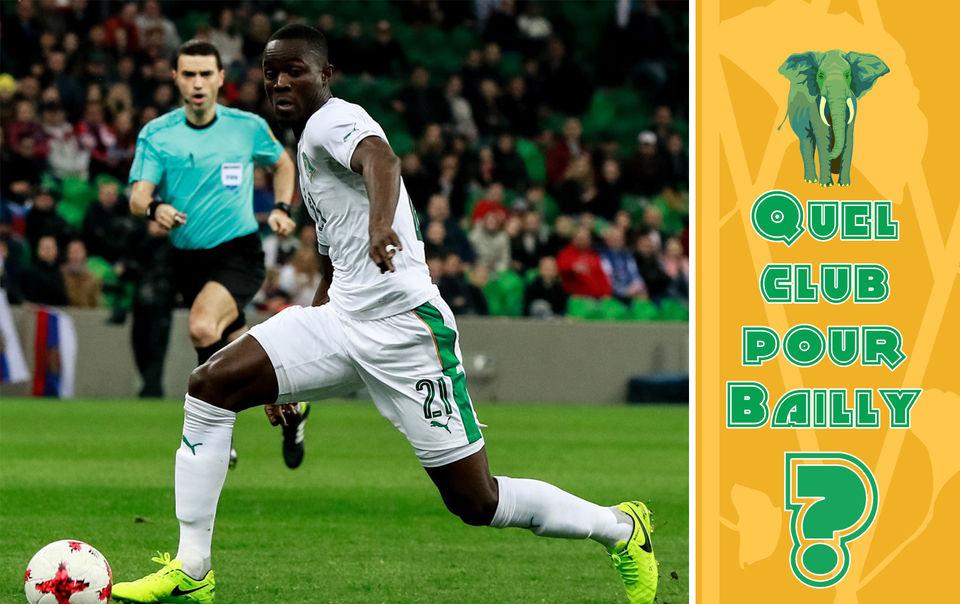 Côte d'Ivoire: 5 suggestions de clubs pour Éric Bailly