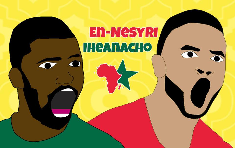 En-Nesyri et Iheanacho, les stars montantes du football africain