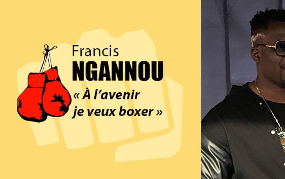 Francis Ngannou peut-il être champion du monde de boxe ?