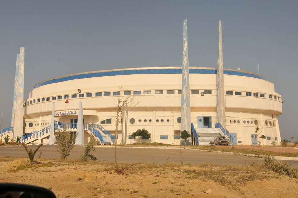 Salle omnisports 7-Novembre (Monastir0 par Cityzen59 - Wikipédia CC BY-SA 3.0