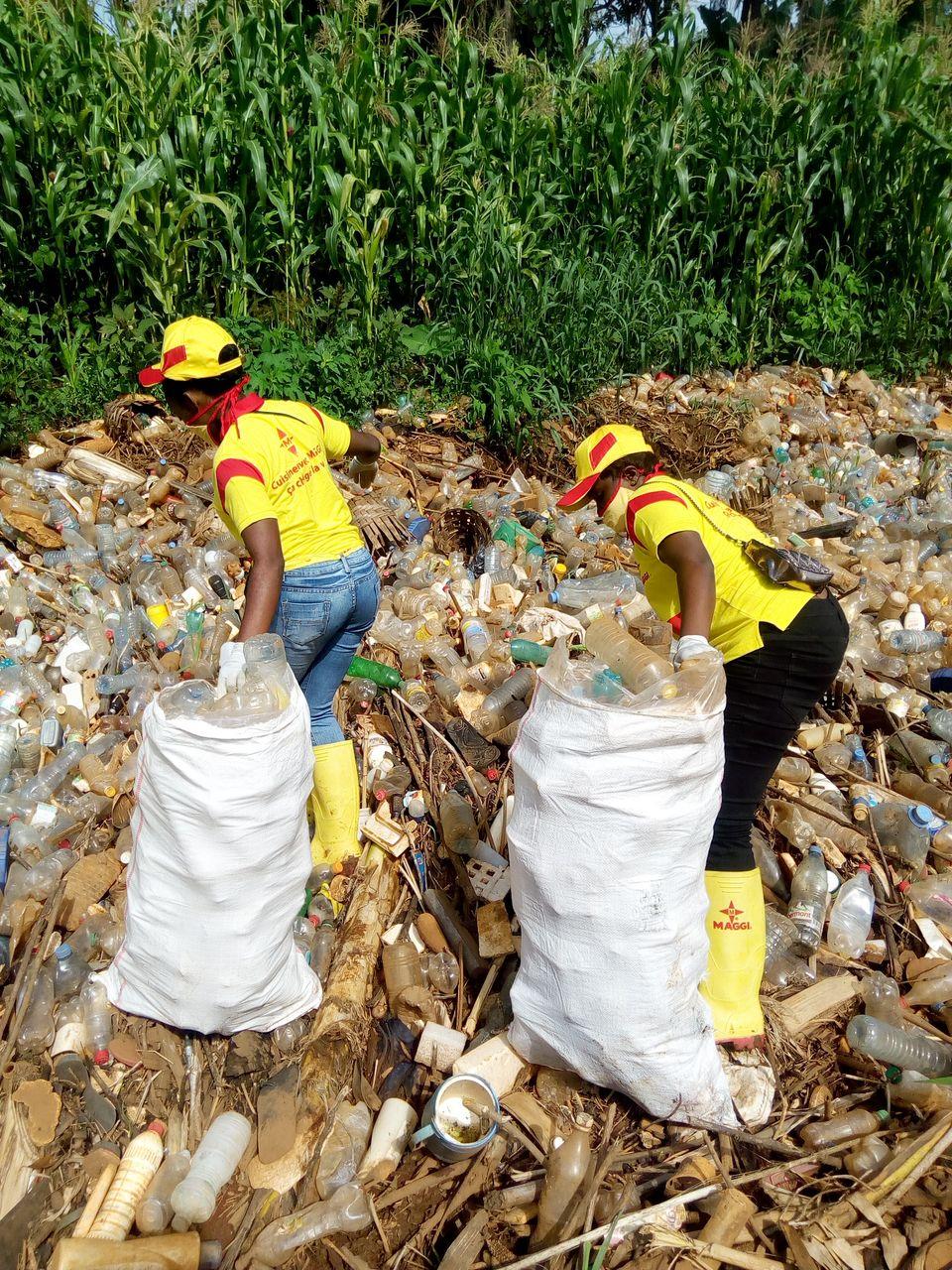 La caravane Maggi engagée dans la collecte des déchets plastiques.
