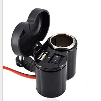 CARGADOR PARA MOTO: 12V Y USB