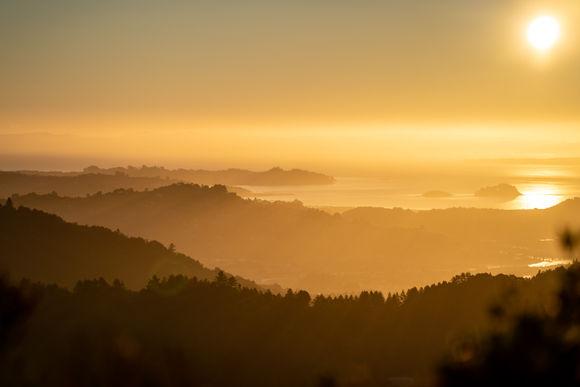 Mt Tam Sunrise Layers