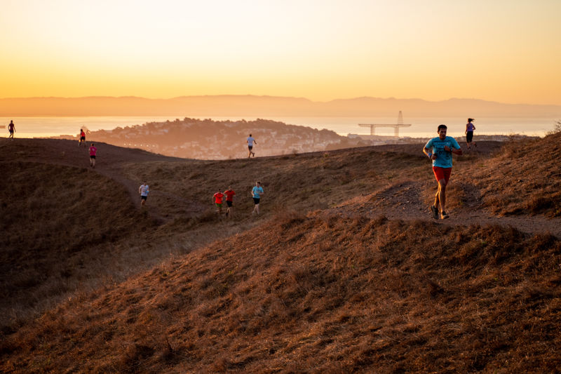 Bernal Heights Movement and Sunrise