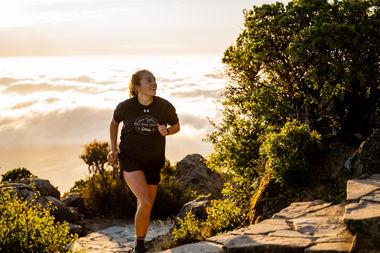 Mt Tam Finish Marissa