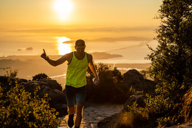 Mt Tam Finish Collin
