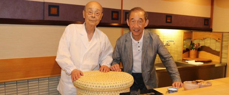 The chef who trained with Jiro Ono return