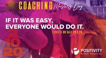 Positivity: Coaching Mastery Day 2020… στο χώρο σας!