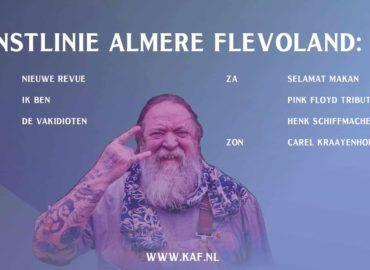 Kunstlinie Almere Flevoland KAF