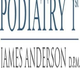 Podiatry 1st – C. James Anderson, DPM