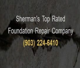 Sherman Foundation Repair