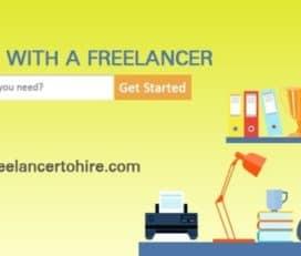 Freelancertohire  Hire a freelancer