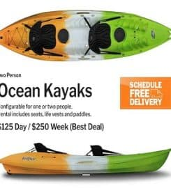 1-800-Snorkel – Maui Kayak Rentals