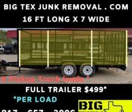 Big Tex Junk Removal