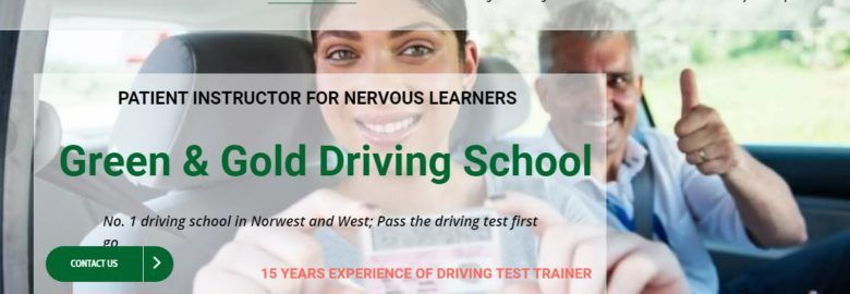 Driving School & Lessons – GreenAndGold Driving School