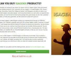 IsaTime – Isagenix UK