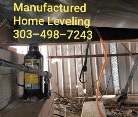 Manufactured Home Leveling