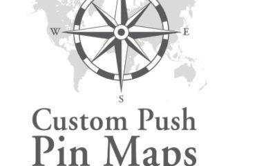 Custom Push Pin Maps