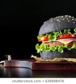 काले बर्गर और पसलियों
