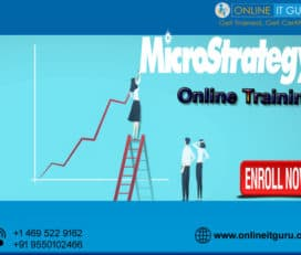 Microstrategy Online Training Hyderabad