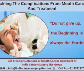 Tackling The Complications From Mouth Cancer And Treatment