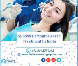 SUCCESS OF MOUTH CANCER TREATMENT IN INDIA