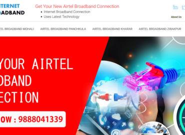 New Airtel Broadband Internet Connection Plans Chandigarh,Mohali