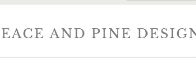 Peace and Pine Designs