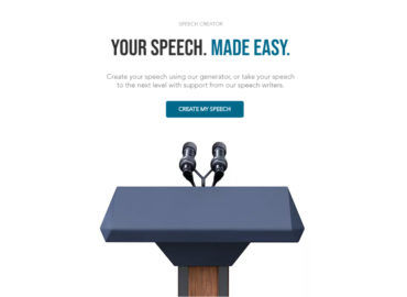 SpeechForm – Speech Creation Platform