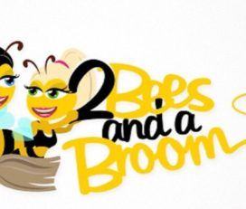 2 Bienen und ein Besen