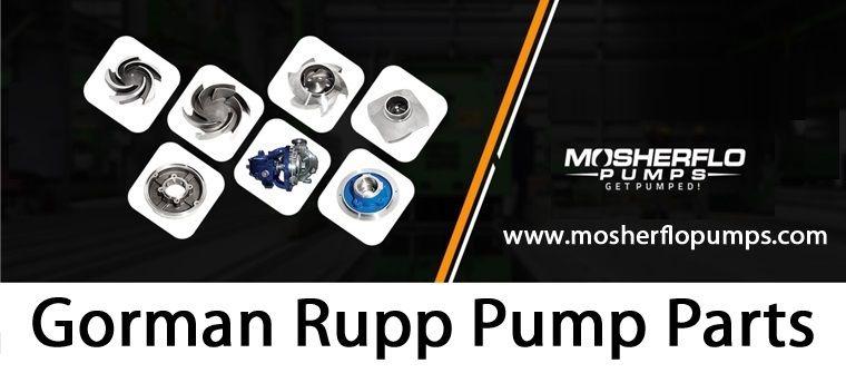 Mosherflo Pumps – Gorman Rupp Pump Parts