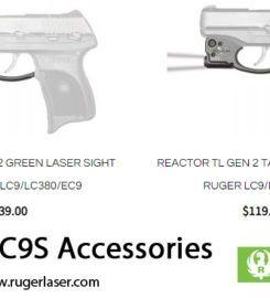 Ruger Laser – Ruger LCP Light