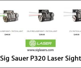 Sig Lasers – Sig Sauer P320 Laser Sight