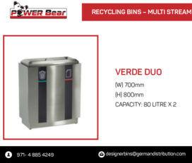 contenitori per il riciclaggio dei rifiuti