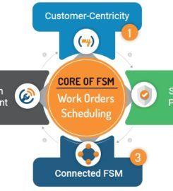 Field Service Management Software – Job Scheduling | ServiceFolder