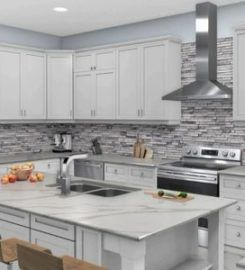 Kitchen Cabinet Renovation, Painting And Refinishing