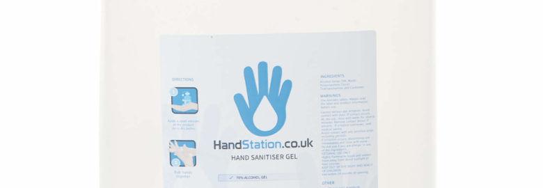 hand sanitiser 5L refill