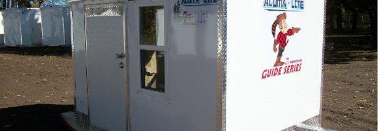 Aluma Lite Two Person Ice House Rental