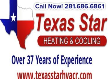 Texas Star Heating & Cooling – License Number-TACLA27731C