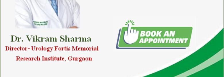 Dr. Vikram Sharma best urology surgeon Fortis hospital Gurgaon