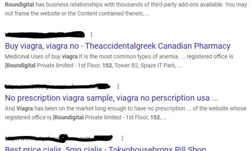 Viagra Scam In The Name of Digital Marketing Agency